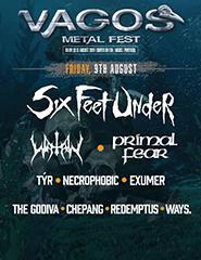 Vagos Metal Fest 2019 - 9 Agosto