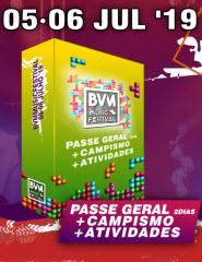 BVM MUSIC FESTIVAL´19 - PACK PASS GERAL - 18€