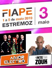 FIAPE 2019 - 03 Maio - Amor Electro - Pete tha Zouk