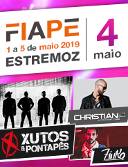 FIAPE 2019 - 04 Maio -  Xutos e Pontapés - Christian F - Zinko