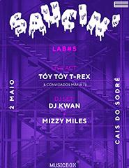 Saucin' #5: Tóy Tóy T-Rex, Mizzy Miles + Andrezo