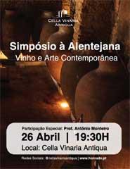 Simpósio à  Alentejana - Vinho e Arte Contemporânea