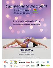 Campeonato Nacional 1ª divisão de Ginástica Rítmica 2019