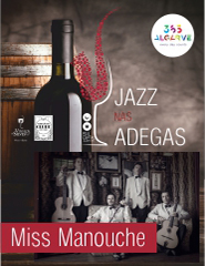 JAZZ NAS ADEGAS | MISS MANOUCHE | 17:00