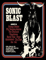 DIÁRIO 9 Agosto (sexta-feira) SonicBlast Moledo 2019