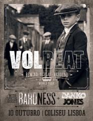 VOLBEAT | REWIND, REPLAY, REBOUND WORLD TOUR