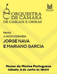 Recital A OCCO CONVIDA: JORGE NAVA E MARIANO GARCIA