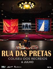 RUA DAS PRETAS |  COLISEU | BACKSTAGE