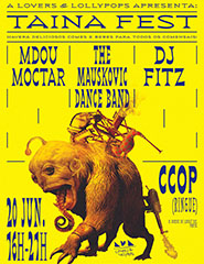 Taina Fest c/ Mdou Moctar, The Mauskovic Dance Band & Dj Fitz