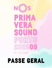 NOS Primavera Sound 2020 - Passe Geral