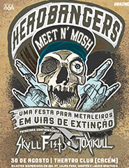 HEADBANGER'S MEET N' MOSH (Skull Fist, Toxikull and more...)