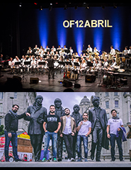 Orquestra Filarmónica 12 de Abril com The Peakles