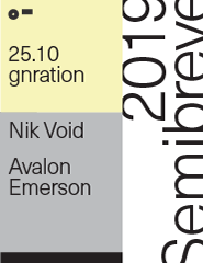 semibreve: avalon emerson / nik void
