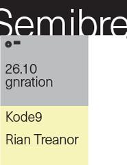 semibreve: kode9 / rian treanor