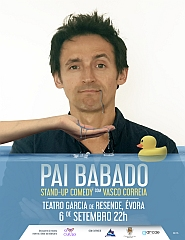Pai Babado – Stand-Up Comedy com Vasco Correia