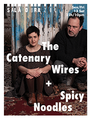 The Catenary Wires + Spicy Noodles