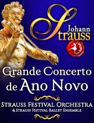 GRANDE CONCERTO DE ANO NOVO | JOHANN STRAUSS | FESTIVAL ORCHESTRA