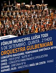 Inauguração da VI Temporada Sinfónica de Sertúbal