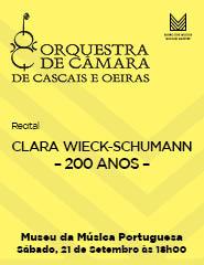 Recital OCCO – CLARA WIECK-SCHUMANN - 200 ANOS