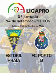 Estoril Praia– FC Porto B