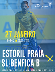 Estoril Praia– SL Benfica B