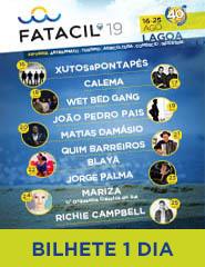 FATACIL'19 | Bilhete 1 Dia