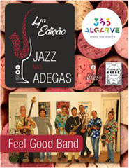 JAZZ NAS ADEGAS | FEEL GOOD BAND | 18:00