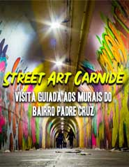 Visita guiada à Arte Urbana do Bº. Padre Cruz