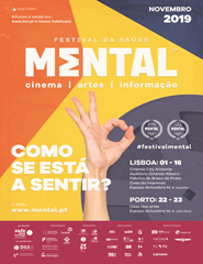 "M-TALK + FILME TEMÁTICO (Lisboa) - Festival Mental ""19"