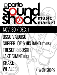 Oporto SoundShock - Passe Geral