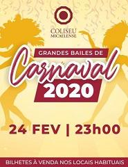 Grande Baile Carnaval 2020 Segunda-feira