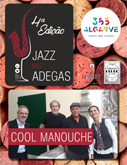 JAZZ NAS ADEGAS | COOL MANOUCHE | 21:00