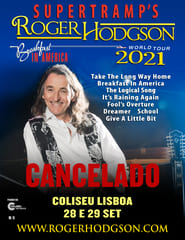 SUPERTRAMP'S | ROGER HODGSON | BREAKFAST IN AMERICA WORLD TOUR 2021
