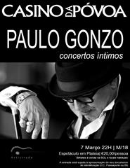 "PAULO GONZO (EN)CANTA NO DIA DA MULHER ""Concertos Íntimos"""