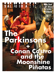 The Parkinsons + Conan Castro and the Moonshine Piñatas