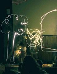 Caixa Mágica: Pintar com a luz