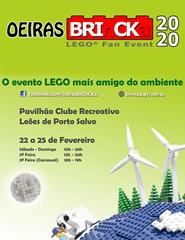 Oeiras BRInCKa 2020 - LEGO EXPOSIÇÃO