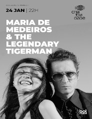 MARIA DE MEDEIROS & THE LEGENDARY TIGERMAN