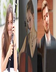 TRIO MERÁKI: TRIO DE CLARINETE, VIOLONCELO E PIANO