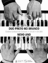 NOVO ANO - Piano a 4 mãos - Duo Preto no Branco