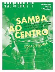 Samba ao Centro #2 | Roda de Samba no Salão Brazil