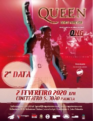 """""""Concerto de Ano Novo """"Queen Lives Forever"""""""
