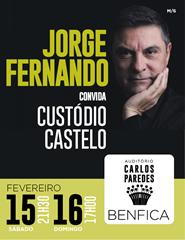 Jorge Fernando convida Custódio Castelo