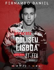 FERNANDO DANIEL | TOUR PRESENTE | AO VIVO NOS COLISEUS