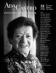 Ada de Castro - Festa 60 Anos a Cantar