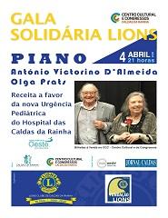 Gala Solidária Lions
