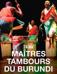 CICLO MUNDOS - MAITRES TAMBOURS DU BURUNDI (Burundi)