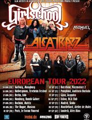 GIRLSCHOOL + ALCATRAZZ (1ª Parte: Asomvel)