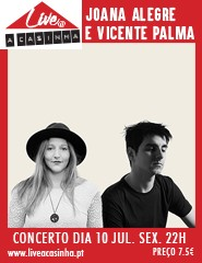 Joana Alegre e Vicente Palma