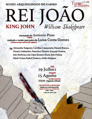 REI JOÃO, de William Shakespeare